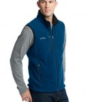 Eddie Bauer - Fleece Vest Style EB204 Deep Sea Blue Angle