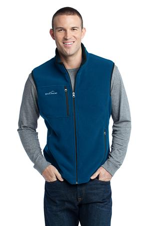 Eddie Bauer - Fleece Vest Style EB204 Deep Sea Blue