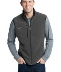 Eddie Bauer - Fleece Vest Style EB204 Grey Steel
