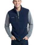 Eddie Bauer - Fleece Vest Style EB204 River Blue
