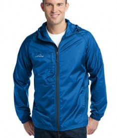 Eddie Bauer - Packable Wind Jacket Style EB500 Brilliant Blue