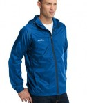 Eddie Bauer - Packable Wind Jacket Style EB500 Brilliant Blue Angle