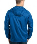 Eddie Bauer - Packable Wind Jacket Style EB500 Brilliant Blue Back