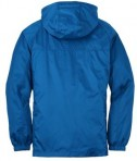 Eddie Bauer - Packable Wind Jacket Style EB500 Brilliant Blue Flat Back