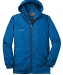 Eddie Bauer - Packable Wind Jacket Style EB500 Brilliant Blue Flat Front