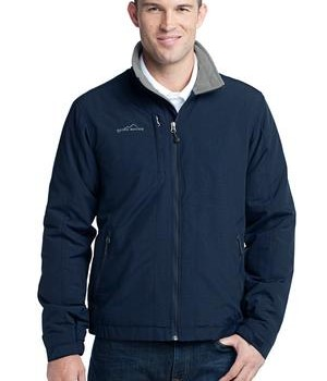 Eddie Bauer – Fleece-Lined Jacket Style EB520 River Blue