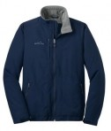 Eddie Bauer - Fleece-Lined Jacket Style EB520 River Blue Flat Front