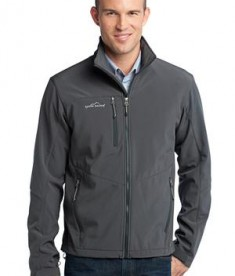 Eddie Bauer - Soft Shell Jacket Style EB530 Grey Steel