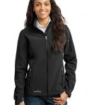 Eddie Bauer - Ladies Soft Shell Jacket Style EB531 Black