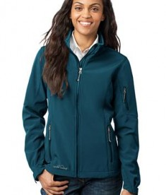 Eddie Bauer - Ladies Soft Shell Jacket Style EB531 Dark Adriatic