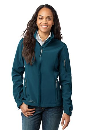 Eddie Bauer – Ladies Soft Shell Jacket Style EB531 Dark Adriatic