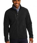 Eddie Bauer Shaded Crosshatch Soft Shell Jacket Style EB532 Black