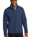 Eddie Bauer Shaded Crosshatch Soft Shell Jacket Style EB532 Blue