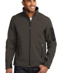 Eddie Bauer Rugged Ripstop Soft Shell Jacket Style EB534 Canteen Grey/Black