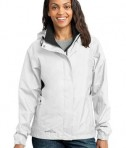 Eddie Bauer - Ladies Rain Jacket Style EB551 White
