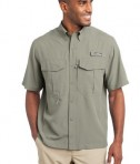 Eddie Bauer - Short Sleeve Performance Fishing Shirt Style EB602 Driftwood