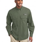 Eddie Bauer - Long Sleeve Fishing Shirt Style EB606 Seagrass Green
