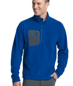 Eddie Bauer First Ascent - Cloud Layer Fleece 1/4-Zip Pullover Style FA700 Ascent Blue