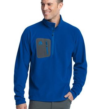 Eddie Bauer First Ascent – Cloud Layer Fleece 1/4-Zip Pullover Style FA700 Ascent Blue