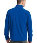 Eddie Bauer First Ascent - Cloud Layer Fleece 1/4-Zip Pullover Style FA700 Ascent Blue Back