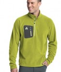 Eddie Bauer First Ascent - Cloud Layer Fleece 1/4-Zip Pullover Style FA700 Kiwi