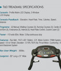 Fitnex T60 Speficifications
