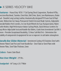 fitnex-x-series-velocity-specifications
