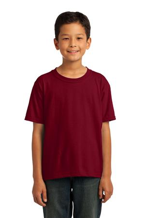 fruit-of-the-loom-3930b-youth-cotton-t-shirt-cardinal