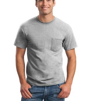 Gildan – DryBlend 50 Cotton/50 Poly Pocket T-Shirt Style 8300 1