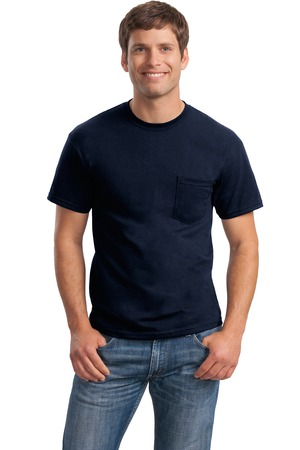 Gildan dryblend 50 cotton 50 poly pocket t shirt style for Gildan dryblend 50 cotton 50 poly t shirt 8000