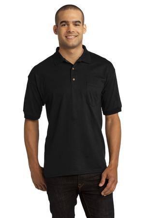 Gildan DryBlend 6-Ounce Jersey Knit Sport Shirt with Pocket Style 8900