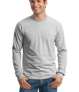 Gildan – Ultra Cotton 100% Cotton Long Sleeve T-Shirt Style G2400 1