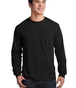 Gildan – Ultra Cotton 100% Cotton Long Sleeve T-Shirt with Pocket Style 2410 1