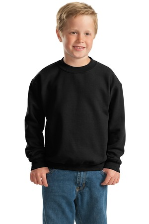Gildan – Youth Heavy Blend Crewneck Sweatshirt Style 18000B 1