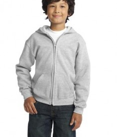 Gildan Youth Heavy Blend Full-Zip Hooded Sweatshirt Style 18600B