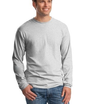 Hanes Beefy-T –  100% Cotton Long Sleeve T-Shirt Style 5186 1