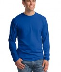 Hanes Beefy-T -  100% Cotton Long Sleeve T-Shirt Style 5186