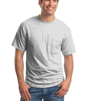 Hanes Beefy-T – 100% Cotton T-Shirt with Pocket Style 5190 1