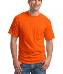 Hanes Beefy-T - 100% Cotton T-Shirt with Pocket Style 5190