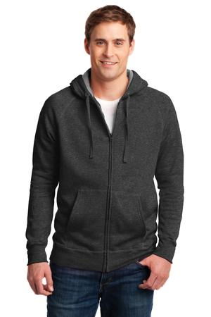 Hanes Nano Full-Zip Hooded Sweatshirt Style HN280 1