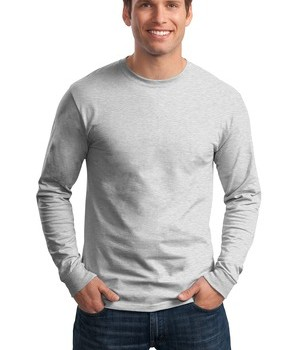 Hanes – Tagless 100% Cotton Long Sleeve T-Shirt Style 5586 1