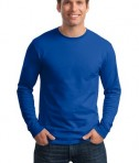Hanes - Tagless 100% Cotton Long Sleeve T-Shirt Style 5586