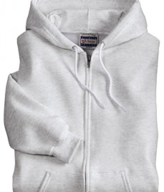 Hanes Ultimate Cotton - Full-Zip Hooded Sweatshirt Style F283