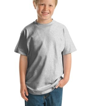 Hanes  –  Youth Beefy-T Born to Be Worn 100% Cotton T-Shirt Style 5380 1