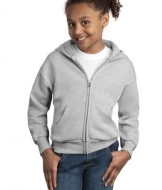 Hanes - Youth Comfortblend EcoSmart Full-Zip Hooded Sweatshirt Style P480