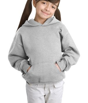 Hanes – Youth Comfortblend EcoSmart Pullover Hooded Sweatshirt Style P470 1