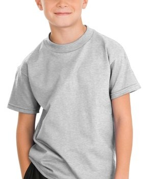 Hanes – Youth Tagless 100%  Cotton T-Shirt Style 5450 1