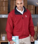 Harriton Fleece-Lined Nylon Jacket Life Style