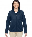 Harriton Ladies' Task Performance Full-Zip Jacket Dark Navy