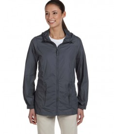 Harriton Ladies' Essential Rainwear Graphite